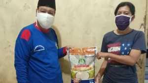 Distribusi banpres beras kepada KPM