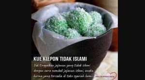 Posting Klepon tidak Islami