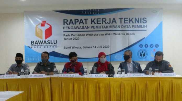 Rapat Kerja Teknis (Rakernis) Bawaslu Kota Depok