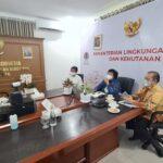 Menteri LHK Siti Nurbaya di Rapat kerja  implementasi UUCK di Bidang LHK