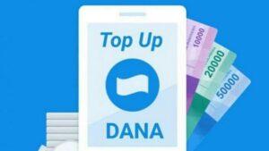 Ilustrasi aplikasi DANA.