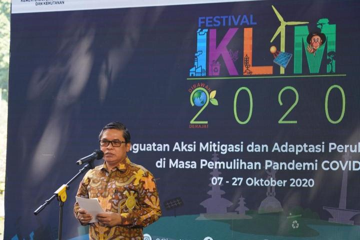 Wakil Menteri LHK membuka Festival Iklim2020
