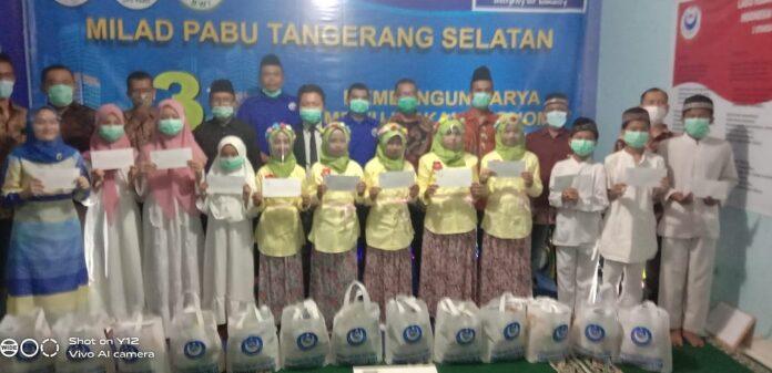 Santunan Kepada Anak Yatim di Peringatan Milad 3 Pabu Tangerang Selatan